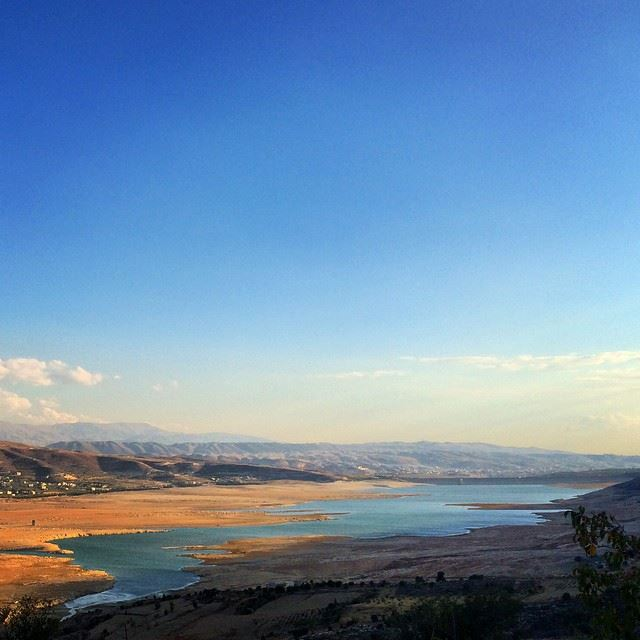 Richness. Freshness. Authenticity. South south we... (Lake Qaraoun)