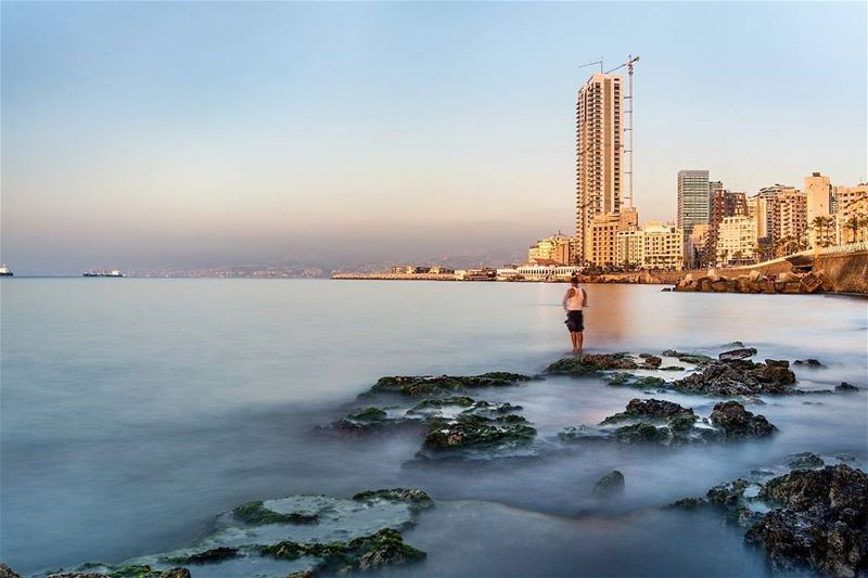 .Beirut coast - Fishing . Good evening dear friends. ...Tags: ... (Beirut, Lebanon)