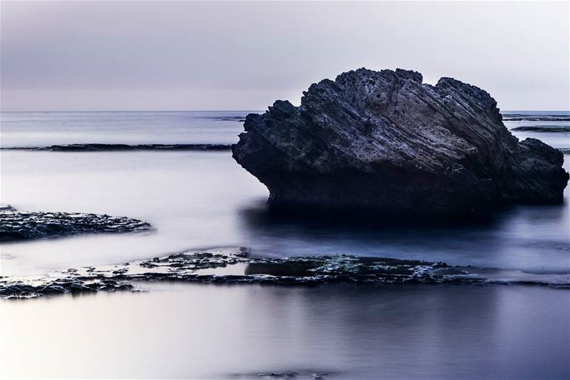 ".Byblos sea long exposure. 70"" . Good evening dear friends and IGers!.... (Byblos - Jbeil)"
