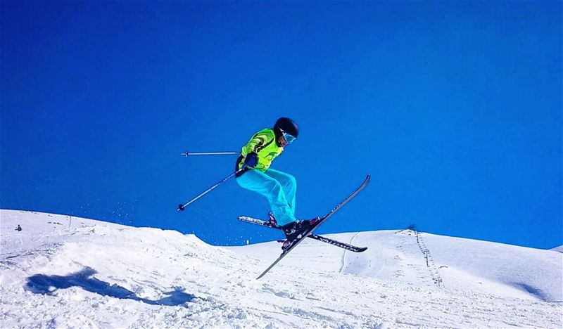 Champ with Groupe Z groupez  ski  skichool  freestyle  mzaar  warde  ... (Mzaar Ski Resort)