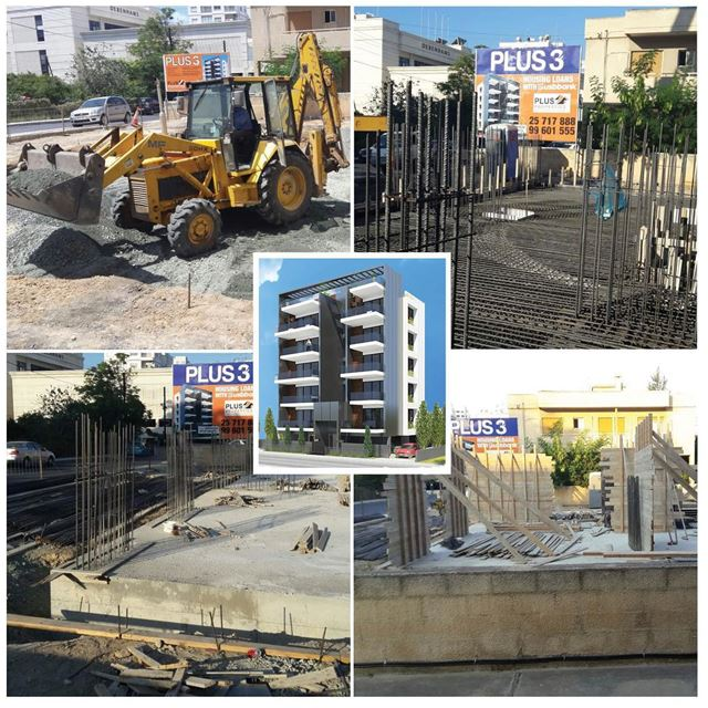 PLUS 3 - Limassol | Construction is moving fast and the project will be...
