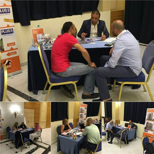 The highlights of Amman Roadshow - Cyprus projects from today at the Royal... (Le Royal Hotels and Resorts - Amman)