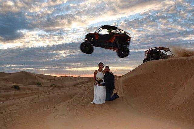 Now that's a Cool Wedding photo ! polarislebanon  polaris  rzr  rzr2017 ...