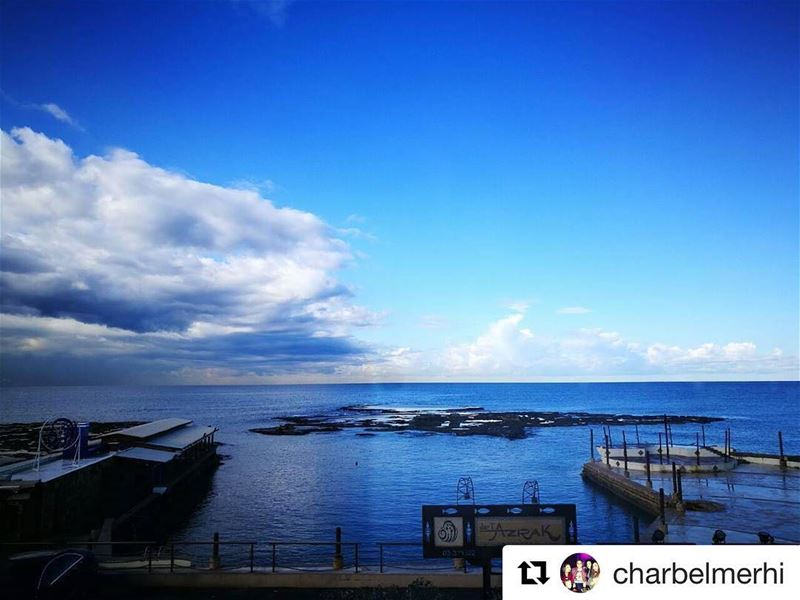 Repost @charbelmerhi with @repostapp・・・The Calm Before The Storm @byblos
