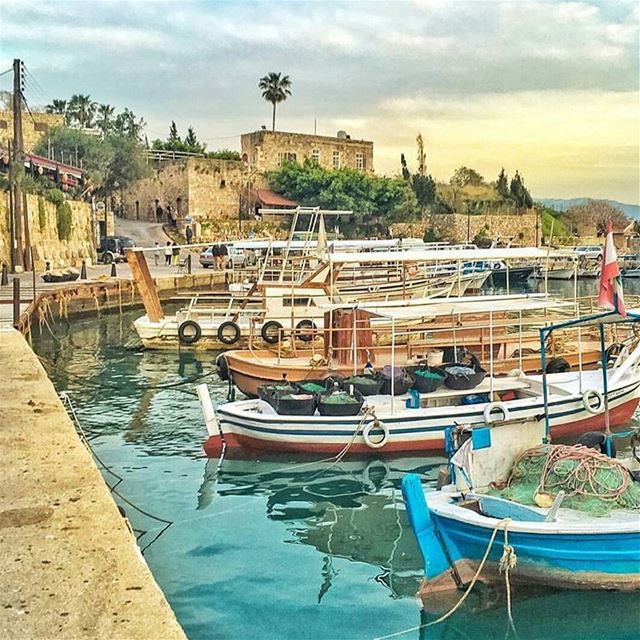 Good morning from  Byblos.Are you ready for the long weekend?Photo by @le (Byblos-  Old Port)