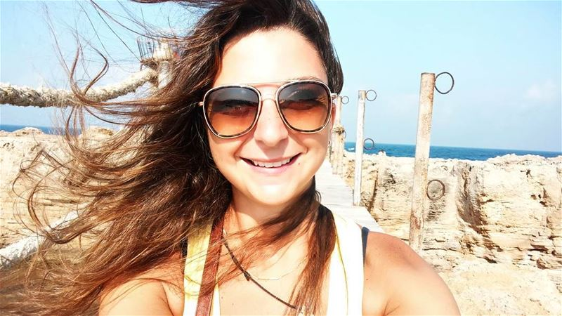 wind  freshair  flyinghair  sun  beach  batroun ...