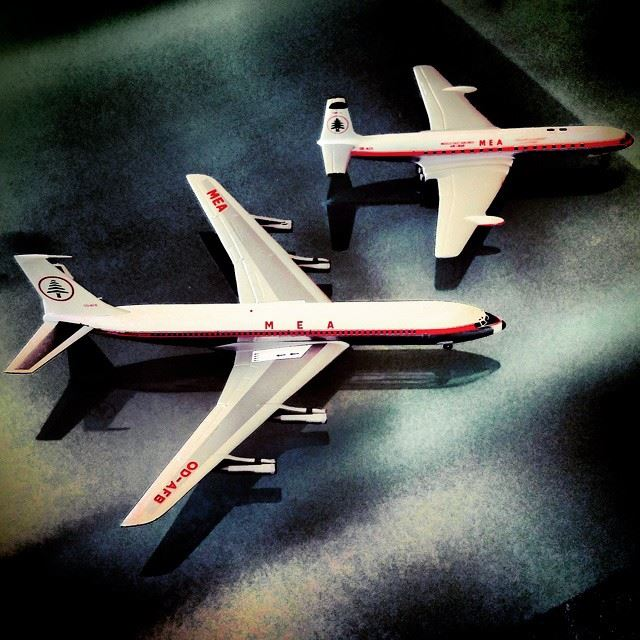 Big 70  mea70years  vintage  models  mea  middleeastairlines  iconic ...