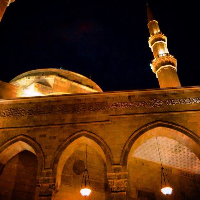 Amin  architecture  drivingby  night  mohammadalaminmosque  religious ...