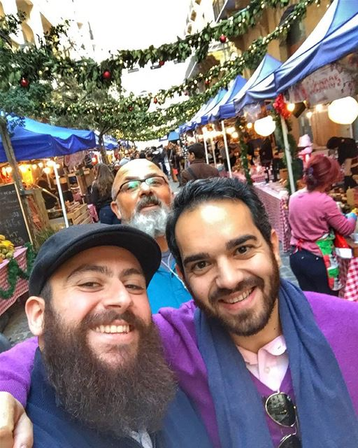 SoukElAkel  downtown  dt  cousin  christmas  christmasvacation  beard ... (Souk el Akel)