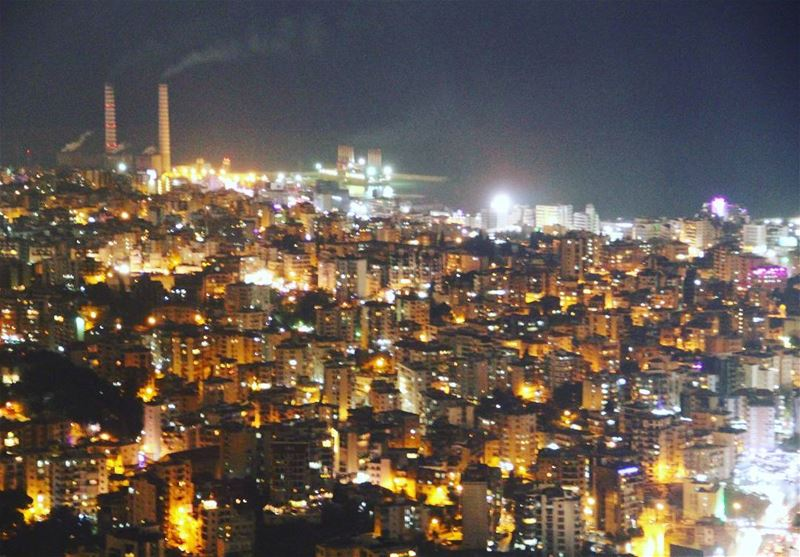 harissa lebanon citylights night beauty...