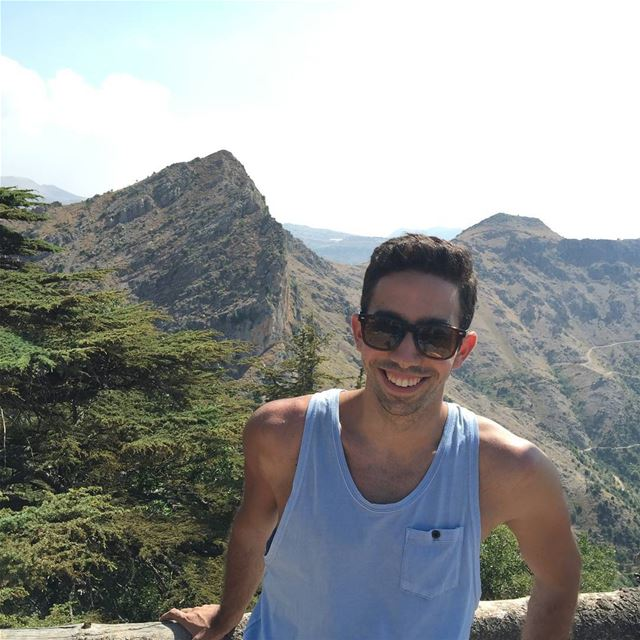A smile is the prettiest thing you can wear. lebanon summer vacation... (Arz Tannourine)