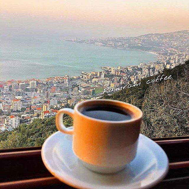 I love coffee but there is nothing I love more than you  lebanon 🇱🇧 ..... (Teleferque Harissa Jounieh)