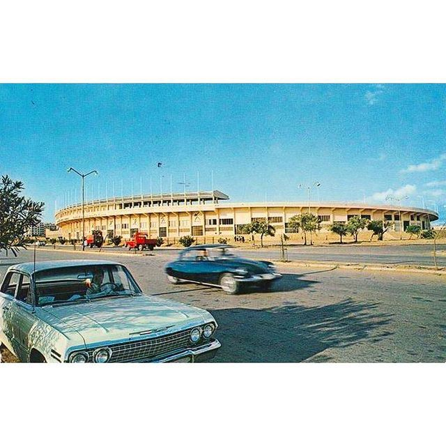 Beirut Camille Chamoun Sports City Stadium - 1966 .