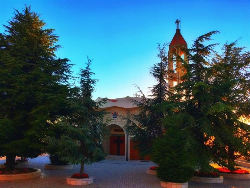 """ A Church Is Not A Museum For Good People,It's A Hospital For The... (Mar Charbel- 3ineya)"