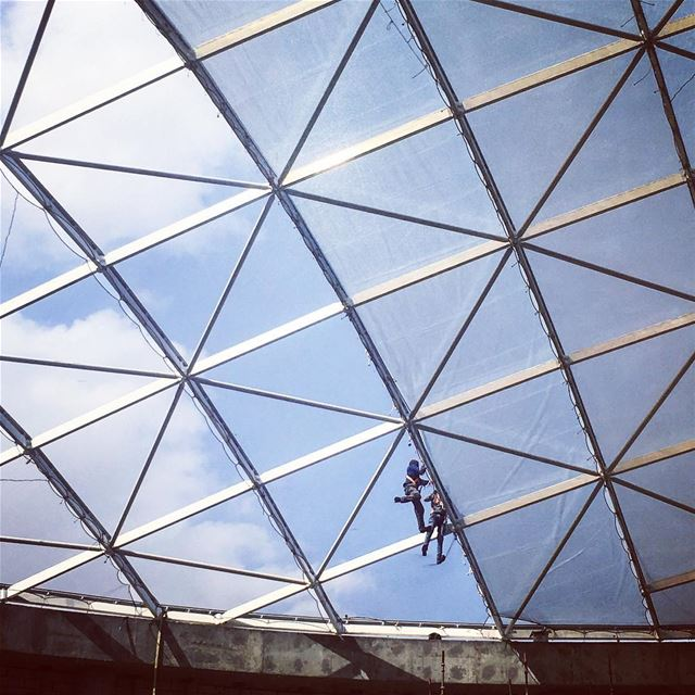 The Dome, a construction site visit for an awesomely upcoming venue.I... (Riyadh, Saudi Arabia)