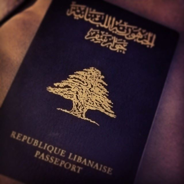 lebanese  passport  lebanon  beirut  cedar  tree  our ...