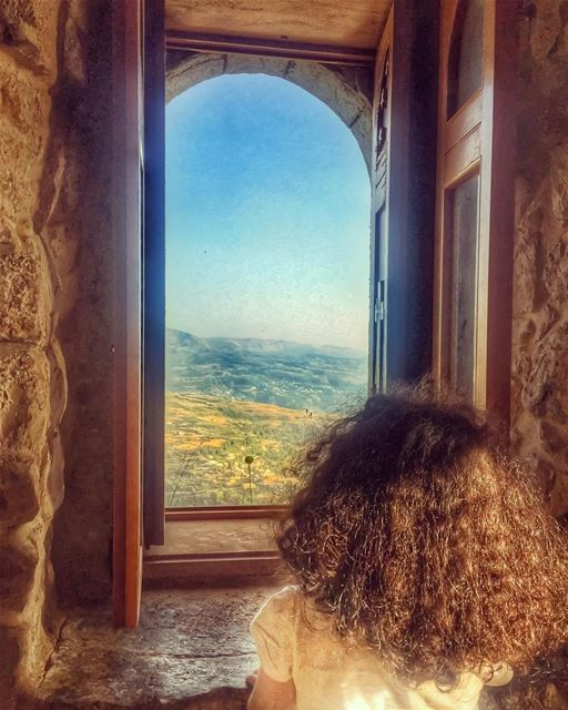 Just like the smallest window brightens up the darkest room ✨ May your... (Saydet El Hosn - Ehden)