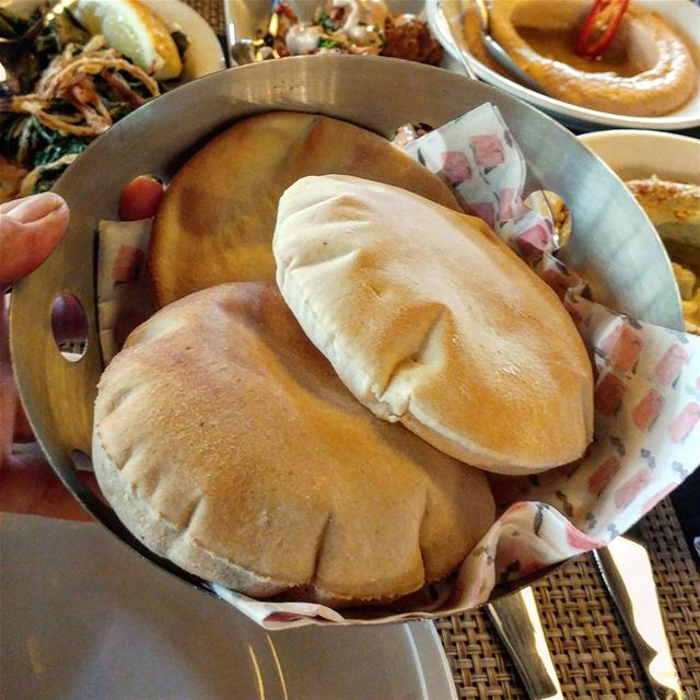 The ultimate test at a Lebanese restaurant is whether the bread is freshly... (Bou Melhem)