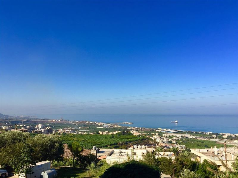morning jnoubing  jnoub  bluesky  lovelyday  goodweather☀️  livelovejnoub... (South Lebanon)