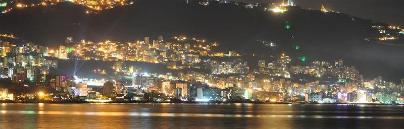 Jounieh, Night View