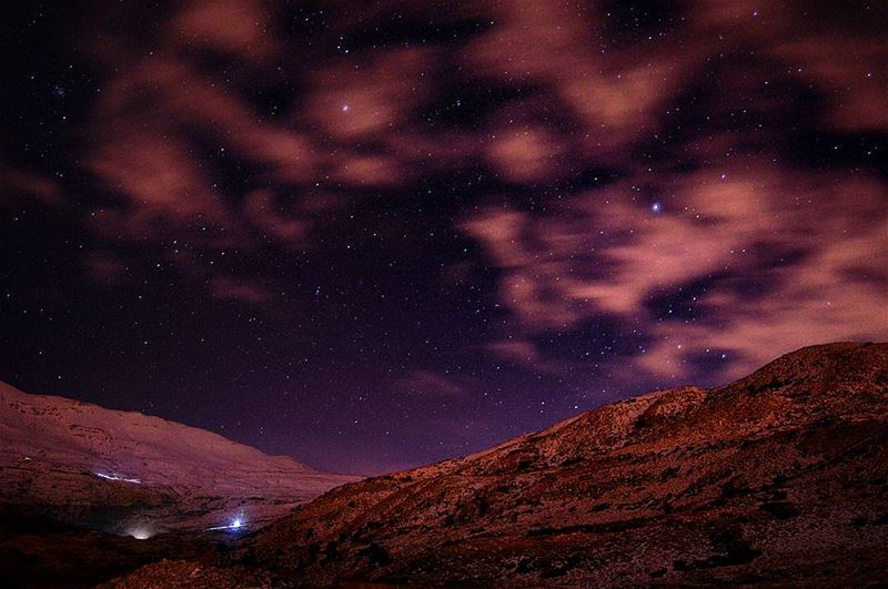 saturday night nightphotography nightphot photography photo photographer... (Mount Sannine)