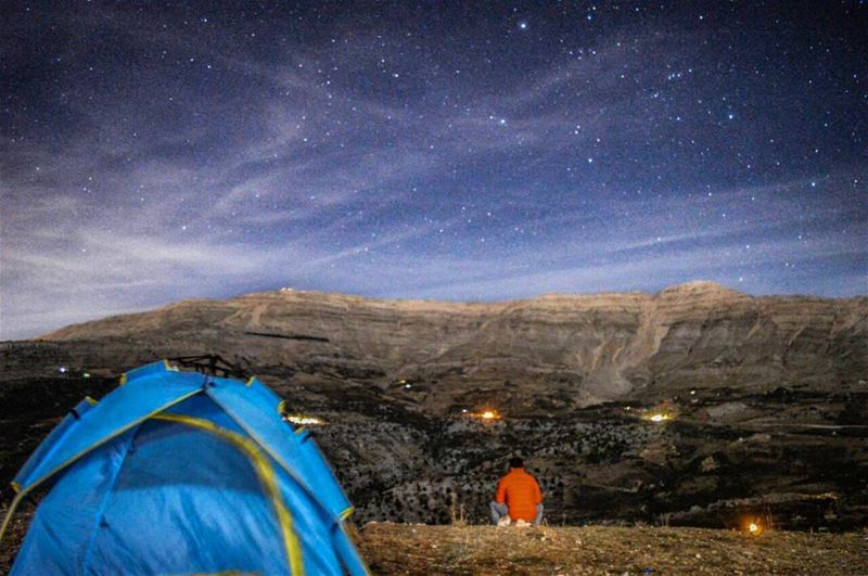 milkyway stars galaxy astrophotography longexposure nightsky ... (Sanine Mountains)