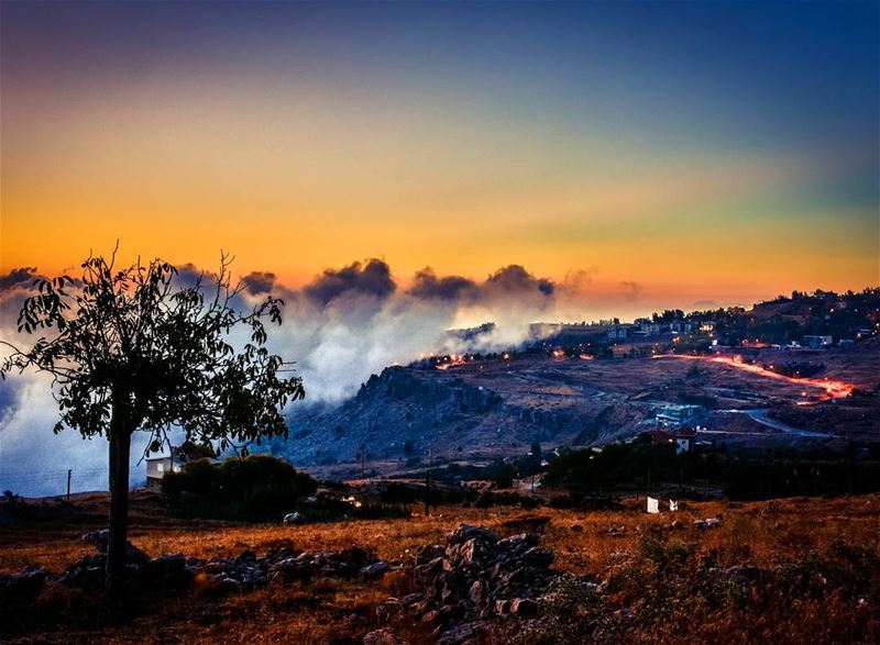 Lebanon bekish kesrouan sunset livelovelebanon livelovebeirut ...