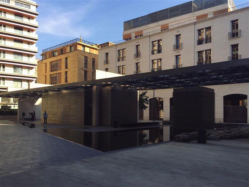 La modernité incarnée 🏙 (Downtown Beirut)