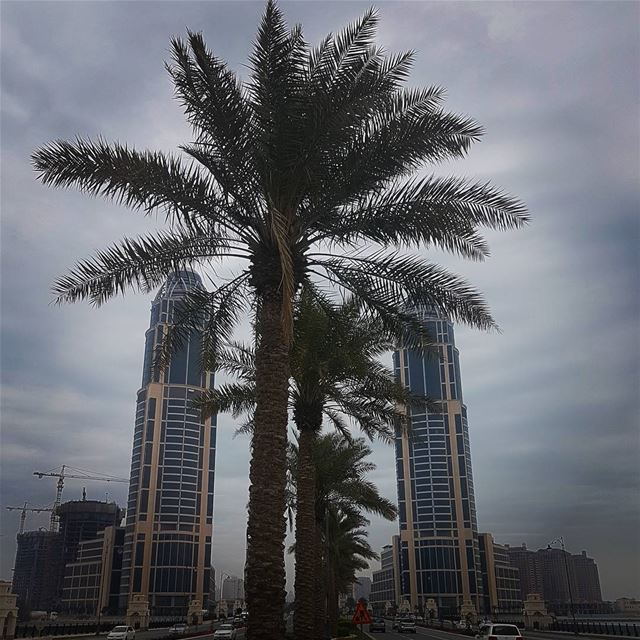 You will never see the end,,, if you give up in the middle...🌴🌴🌴🌴 @thep (The Pearl Qatar - اللؤلؤة قطر)