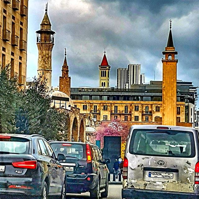 Busy Beirut city beirutcity beirut mycity downtown livelovelebanon ... (Downtown Beirut)