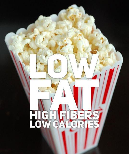 Enjoy 3 cups of oil-free popcorn=80 calories 🍿.. popcorn lowfat ...