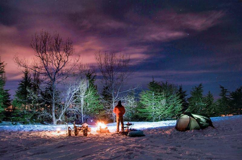 🌲⛺🔥🌲.... saturday night camp camping nature landscape adventure... (Bakich)