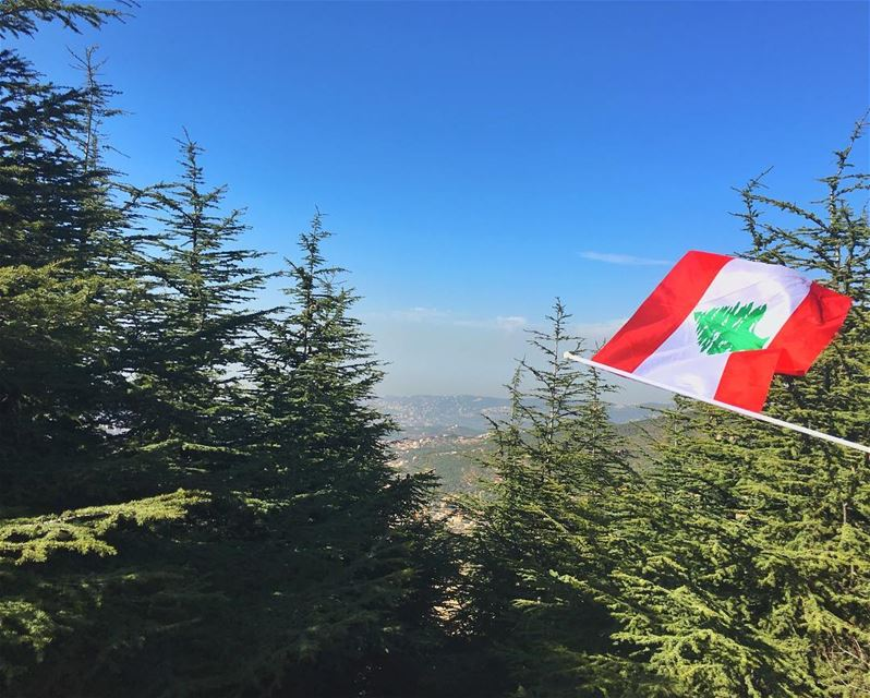 للعُلى..للعَلَمْ 🇱🇧 livelovelebanon  livelovebeirut  livelovebeauty ... (Falougha)