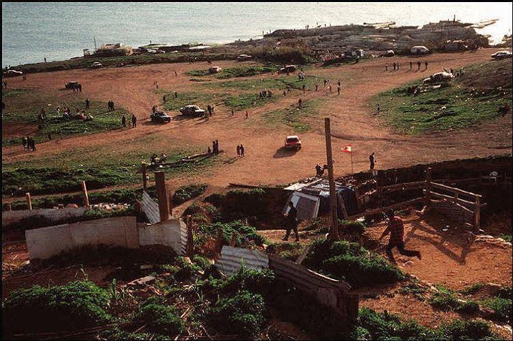 """Beirut Picnic Area """"Dalieh"""" 1996 . OldBeirutlebanon ©"""