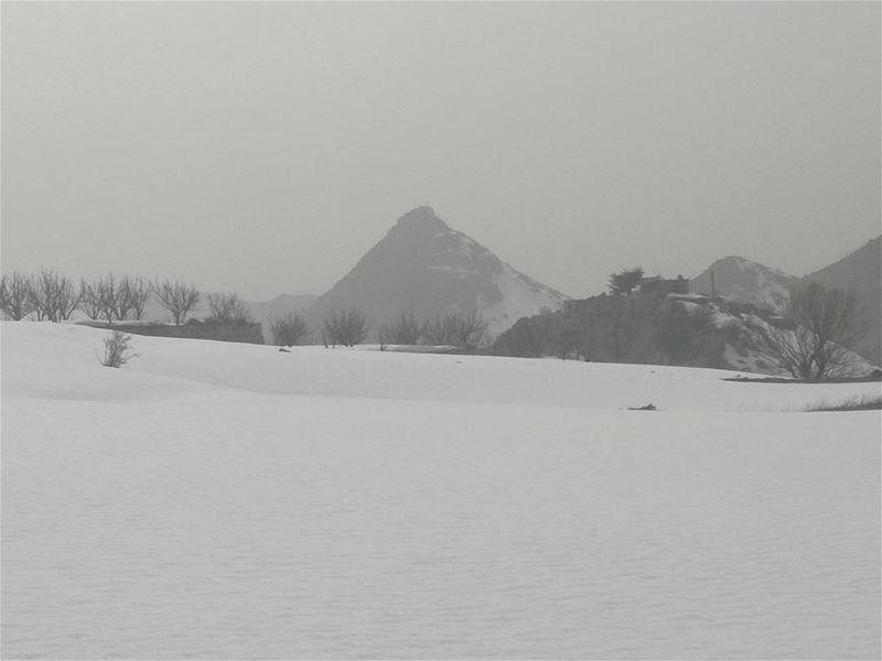Laqlouq lebanon winter snow mountain lebanontimes lebanon_hdr ...