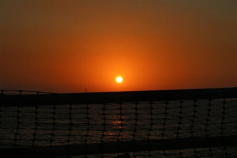 chasing the Sun on the first spring Sunset sunsetlover sky sea ... (Waterfront City Dbayeh)