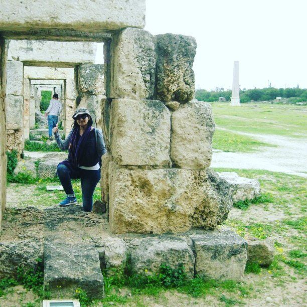 ▶Into the unknown→ monument archeology stone history monuments ... (Tyre, Lebanon)