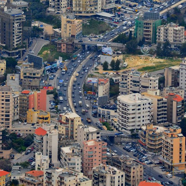 Jounieh-kaslik Road from Harissa RoyALKhouryPhotography beirut ...