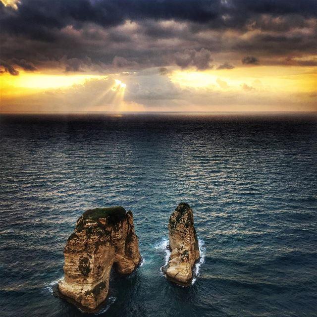 Good morning Beirut ❤️ beirut love lebanon lebanontimes ... (Raouché)