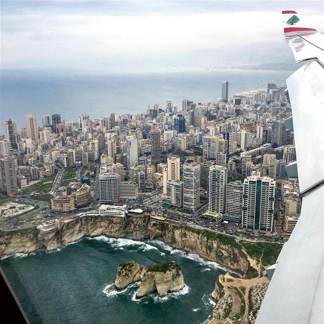Hey Lebanon, Hey MEA fromtheplane mea middleeastairlines planes ... (Beirut, Lebanon)