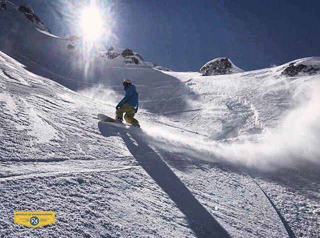 St. Antonios run w/ Ziad Chakhtoura republicofsnowboarding rosthehouse ... (Mzaar Ski Resort)