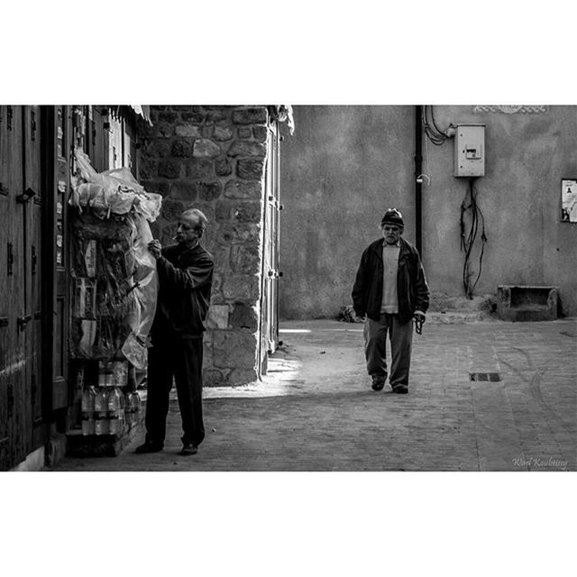 bnw  man  walking  souk  blackandwhite  blackandwhite  street ... (Old Saida Souks)