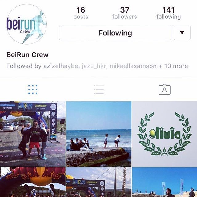 The @beiruncrew page is now on instagram! Follow it and stay tuned to our...