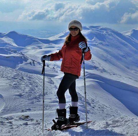 Snowshoeing lebanonspotlights lebanon beautifullebanon lebanonscenery ...