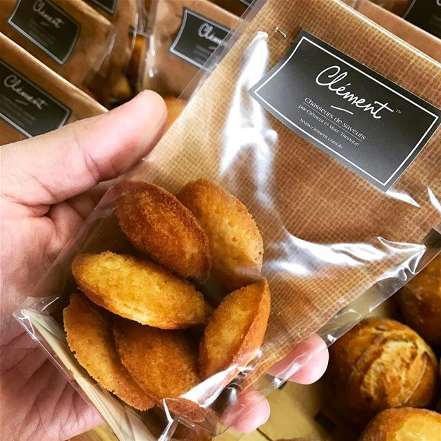 Perfect Minis Madeleines 😋 livelovefood livelovebeirut beirutfood ...