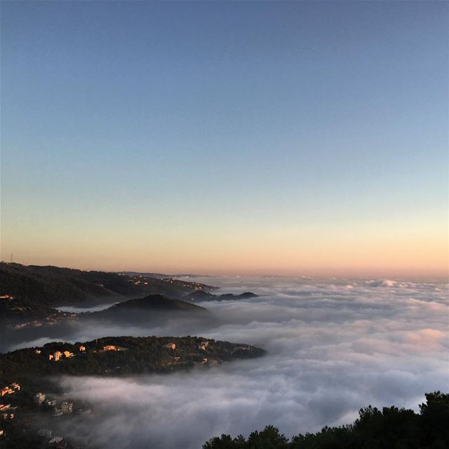Every cloud has a silver lining ☁️ (El Kfour, Mont-Liban, Lebanon)