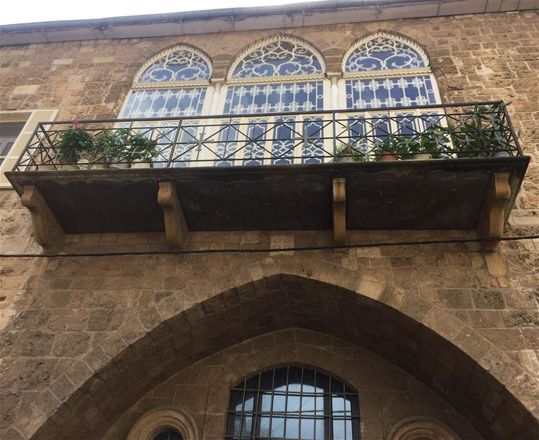 instalike ig_photooftheday ig_lebanon ig_capture arches architecture... (Gemmayze)