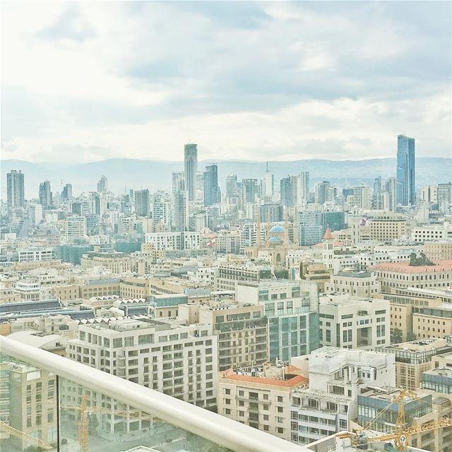 gloomy bey••••••• clouds gloomy fourseasons architecture ... (Four Seasons Hotel Beirut)