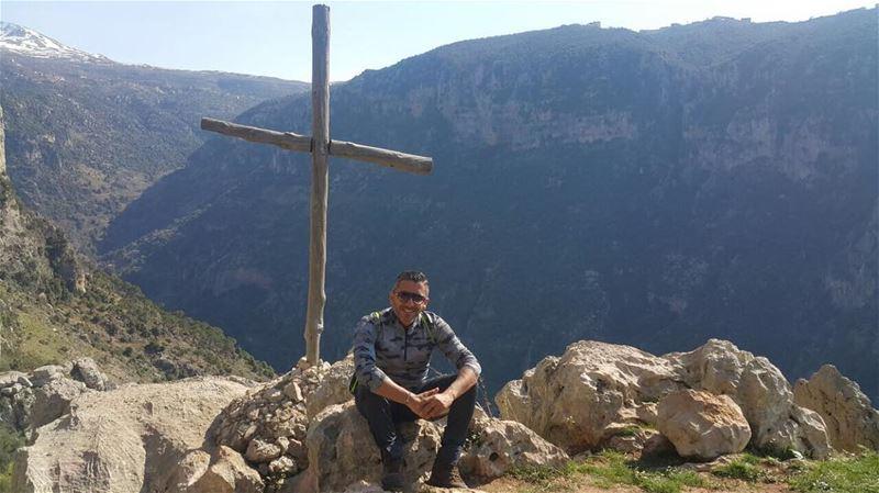 Beautiful 🇱🇧 heaven on 🌏 annoubin annoubine hikingculture ... (Annoubin Valley)