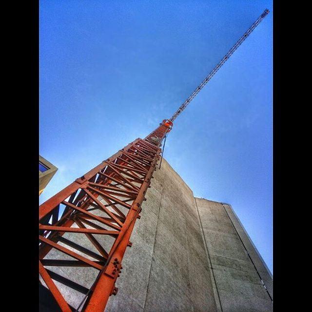 beirut beirutcity lebanon crane construction constructionsite ... (Beirut, Lebanon)